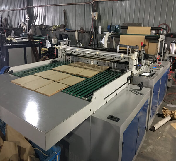 Qd 1200 A4 Paper Sheet Cutter Roll To Sheet Cutting