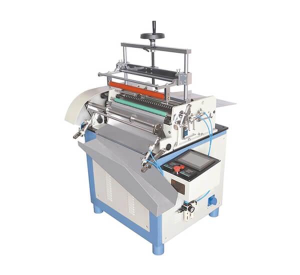 DSY-T500A paper tube labeling machine hot melt